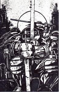 TMNT #52 Cover art on ebay