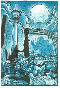 Calgary TMNT illustration