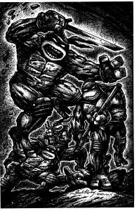 IDW TMNT #50 Kirby