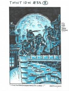 IDW TMNT Cover #33B