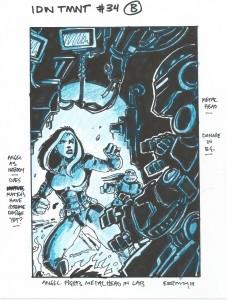 IDW TMNT Cover #34B