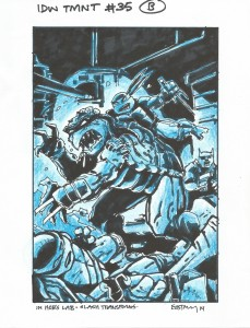 IDW TMNT Cover #35B