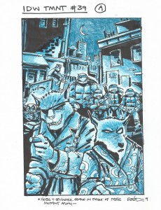 IDW TMNT Cover #39A