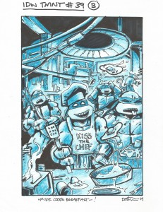 IDW TMNT Cover #39B