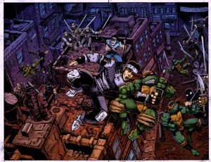 TMNT Annual Big Trouble in Little Italy Cover
