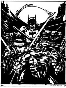 Batman/TMNT Crossover #1 on ebay NOW!!!!