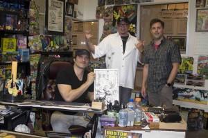 Rodriguez at Studio
