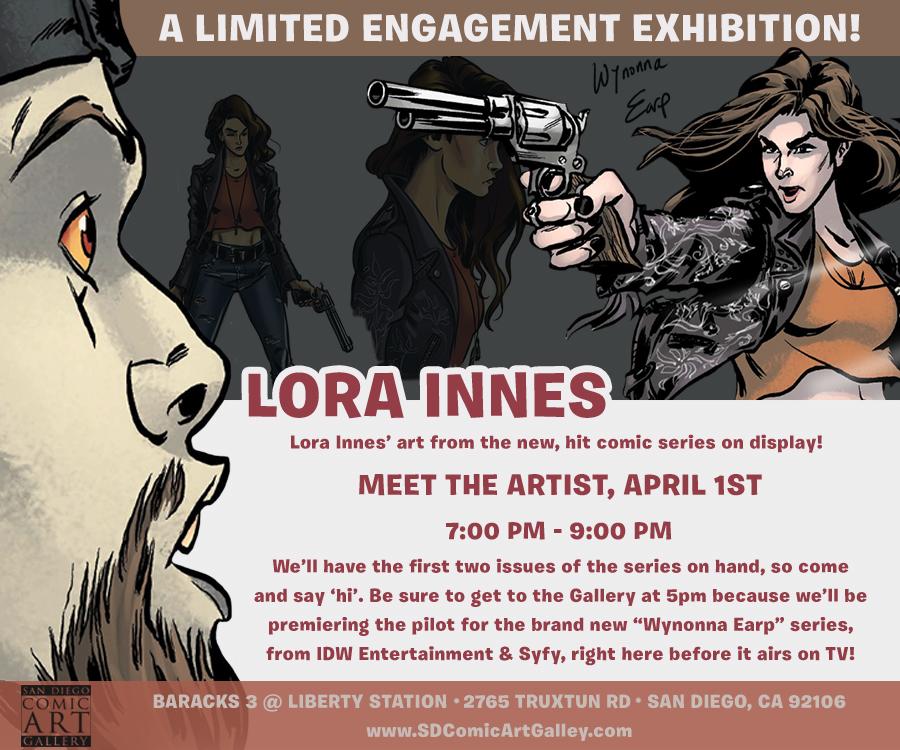 Wynonna Earp at Gallery