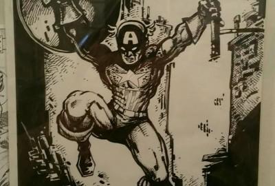 Captain America Pop Up Exhibit