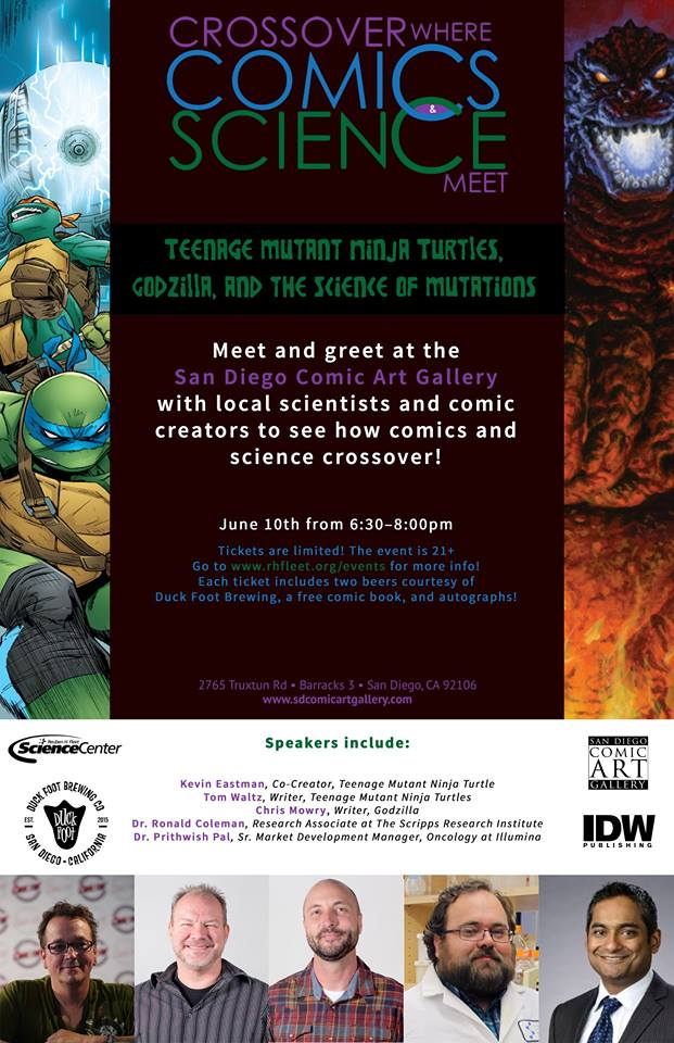 TMNT, Godzilla and the Science of Mutations