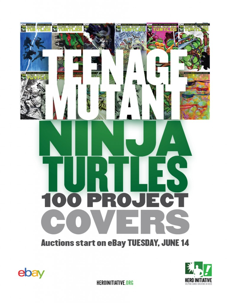 TMNT 100 Week Two is LIVE