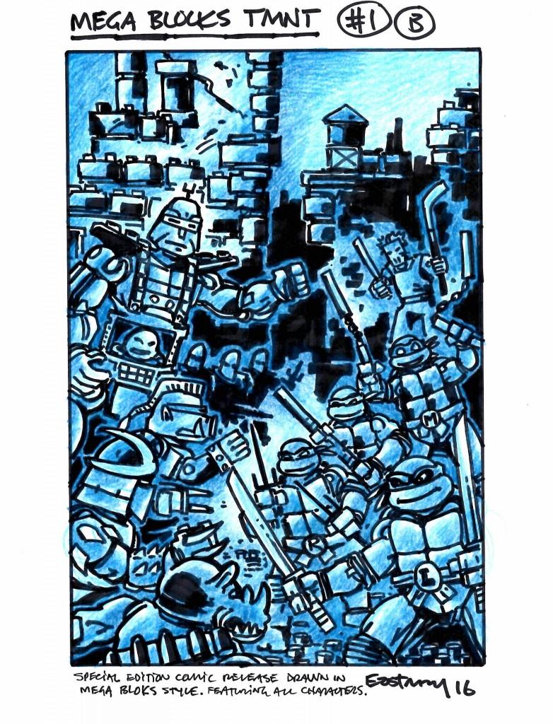 Mega Bloks original art on eBay