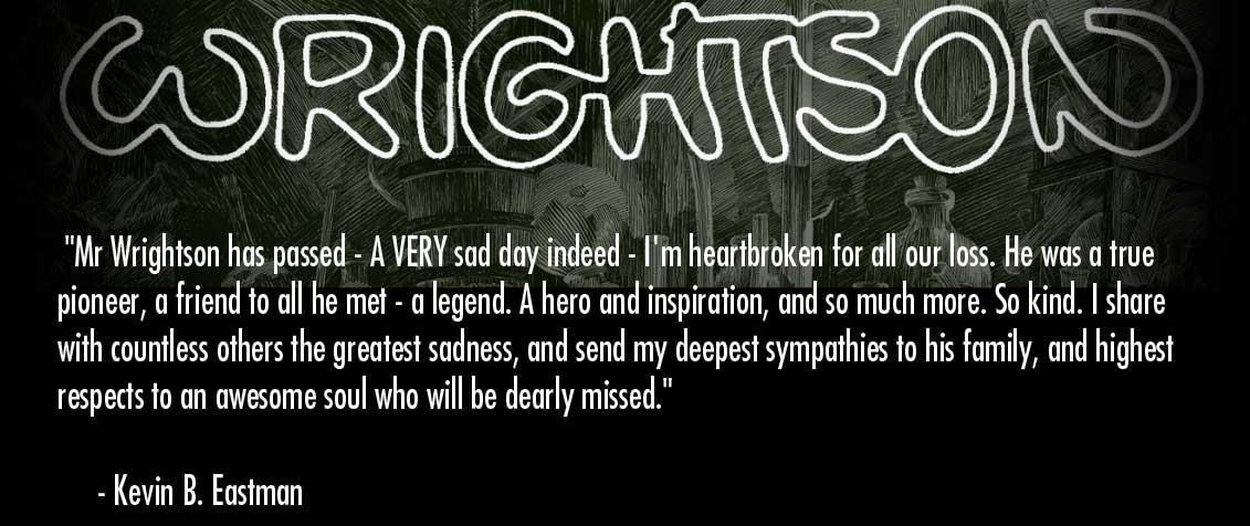 RIP Bernie Wrightson