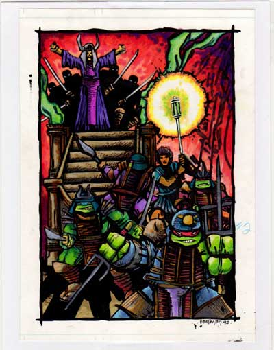 Original Art – Kevin Eastman Studios