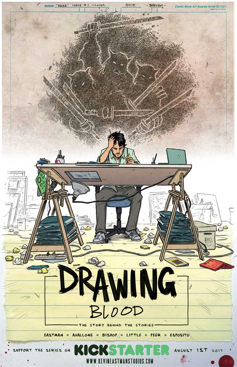 "Announcing Kevin Eastman's ""Drawing Blood"""