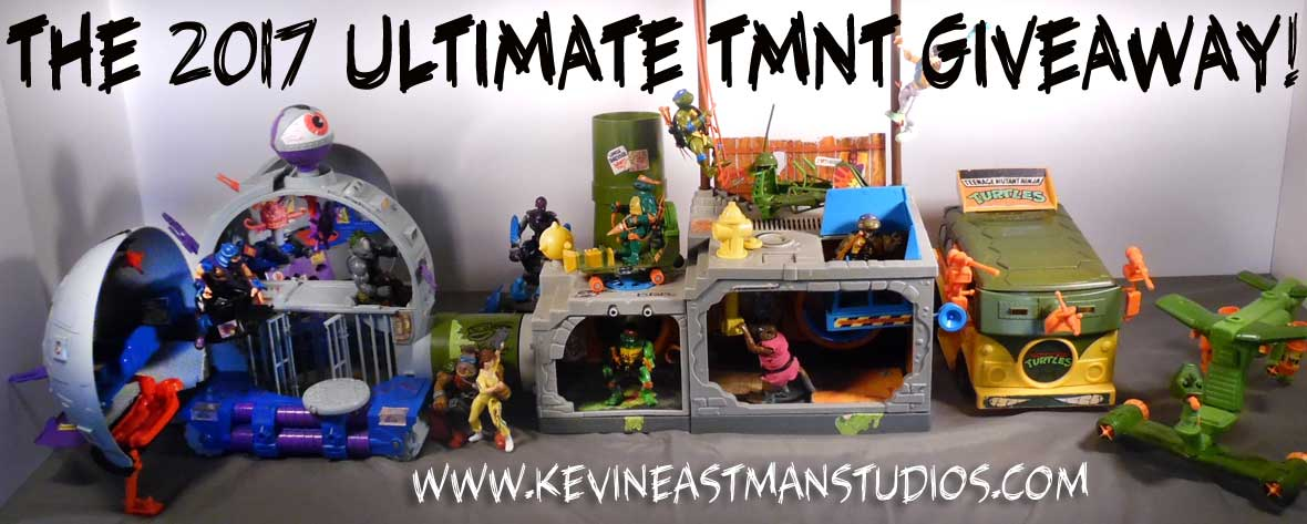 Sewer Playset, Technodrome and more - FREE