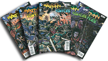 Batman/TMNT I signed copies available now!