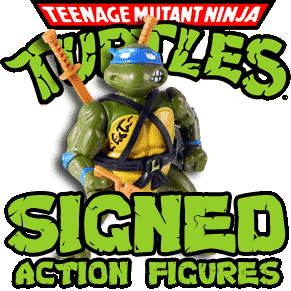 Signed TMNT Action Figures