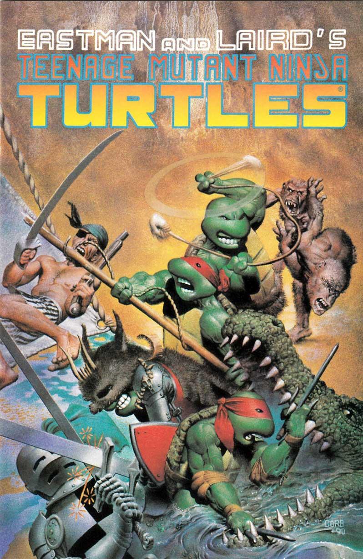 "Free Copy of TMNT 33, Corben's ""Turtles Take Time"""