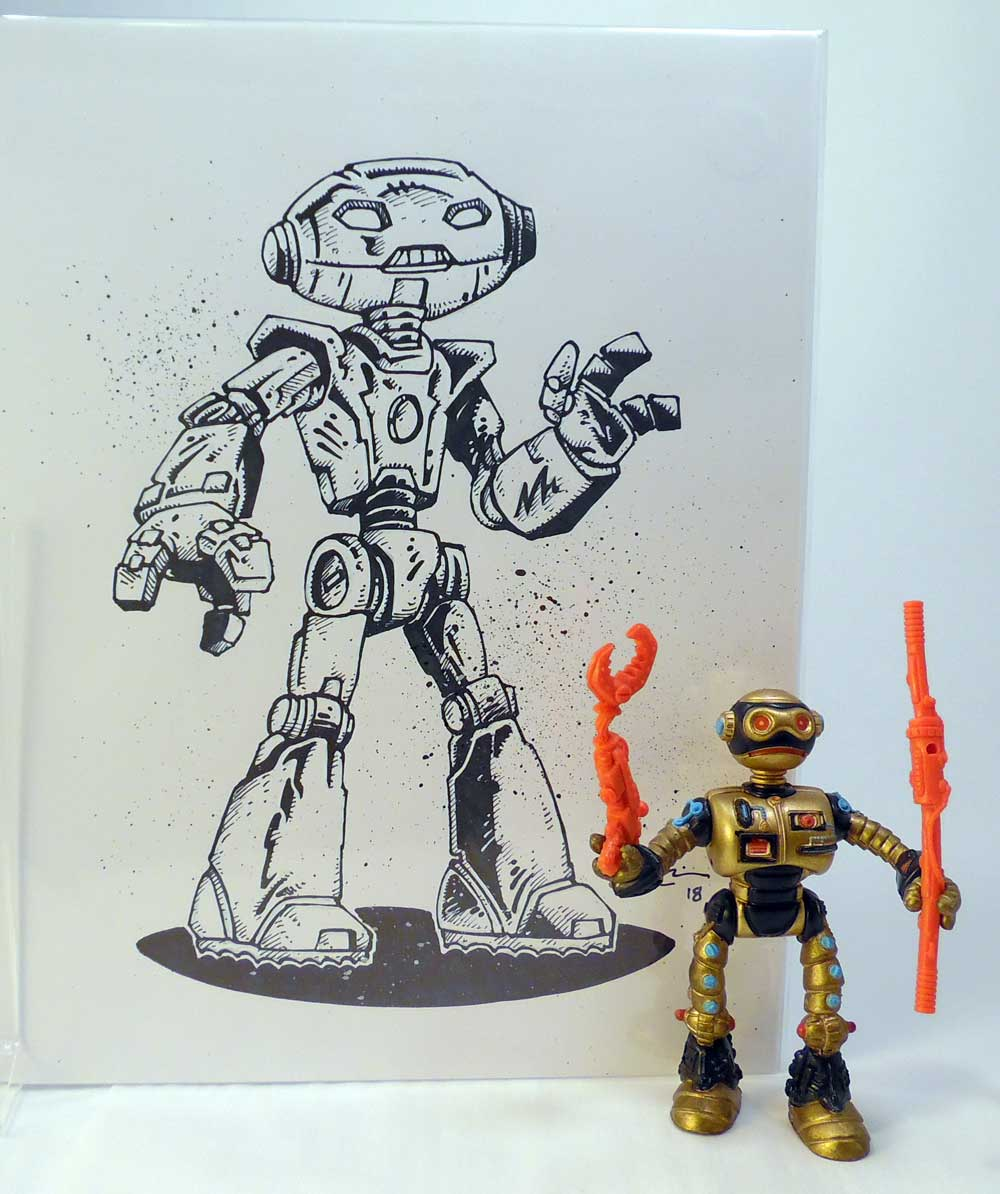 Stunning Original Art and Toys - NEW BUNDLE!
