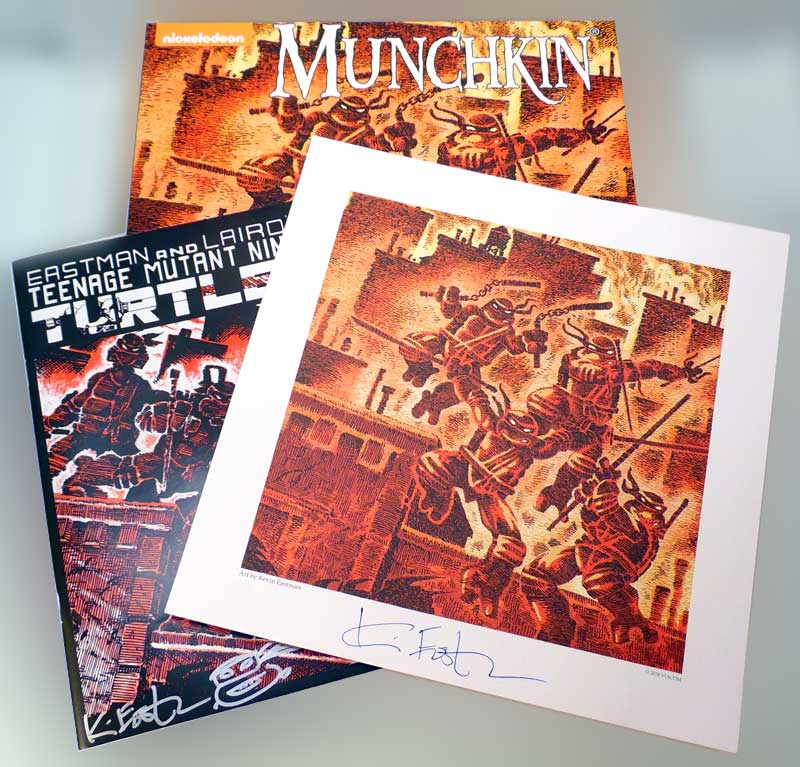 Munchkins Games - all Signed