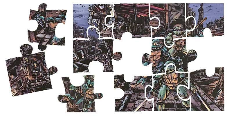 TMNT Universe Puzzles - Signed - grab one now - selling fast!!