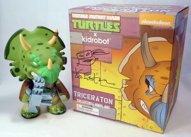 """Teenage Mutant Ninja Turtles Shredder Collectible Vinyl Art 7/"""" Figurine Kidrobot"""