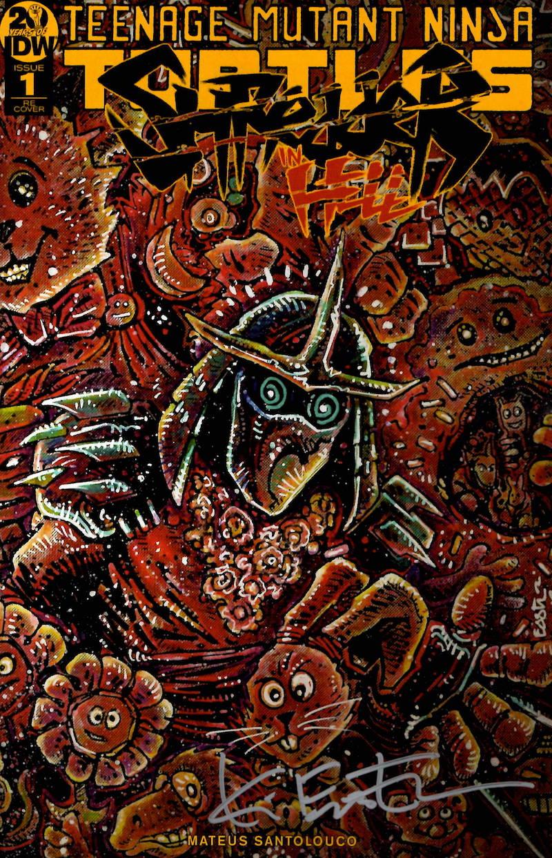 Shredder In Hell - Fan Club Variant in stock now!