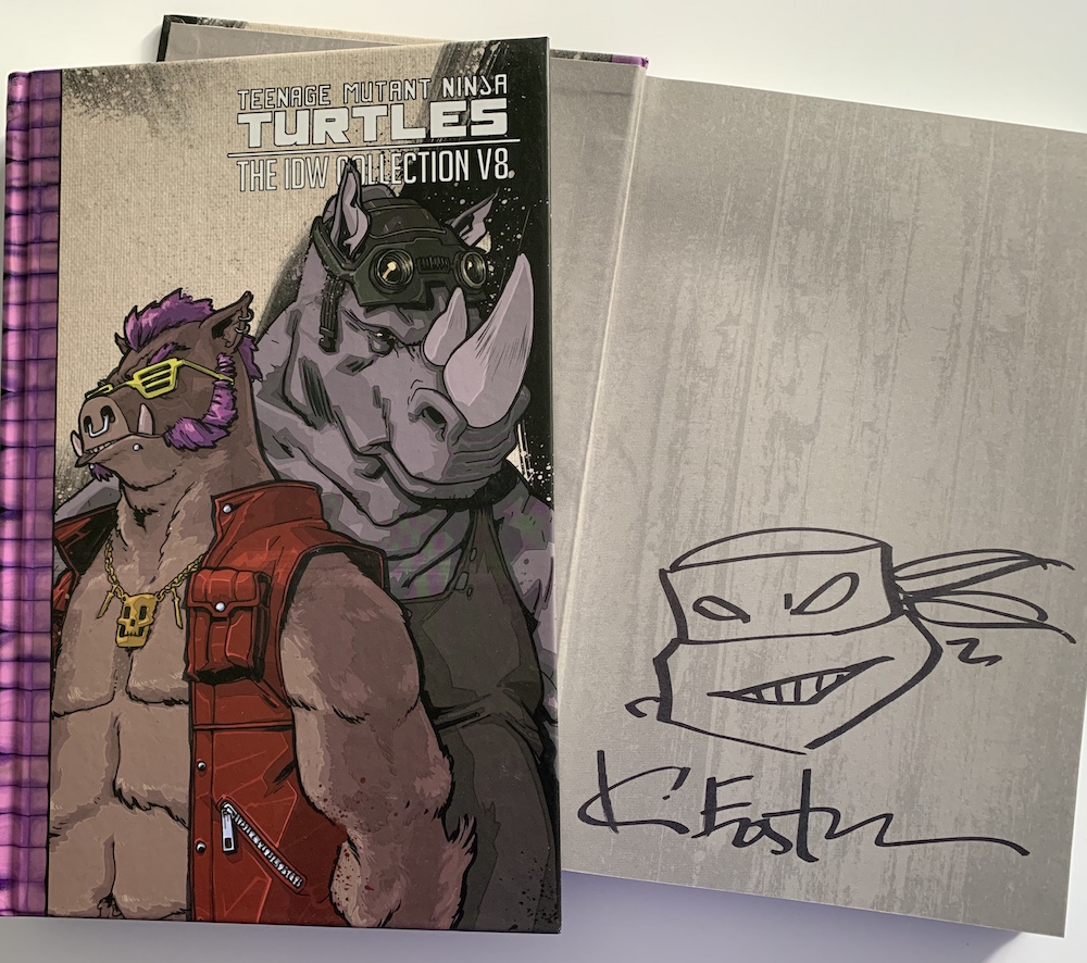 New Signed Hard covers in stock now!!!