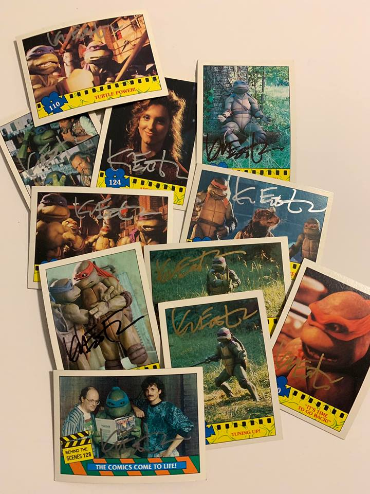 Signed Movie Trading Cards for Fan Club Members