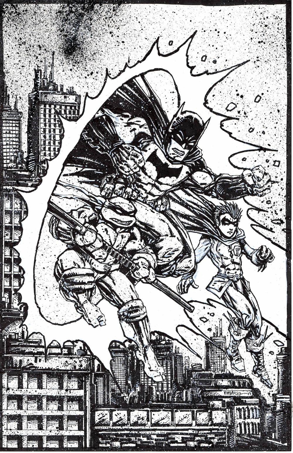 Batman/TMNT Original Artwork