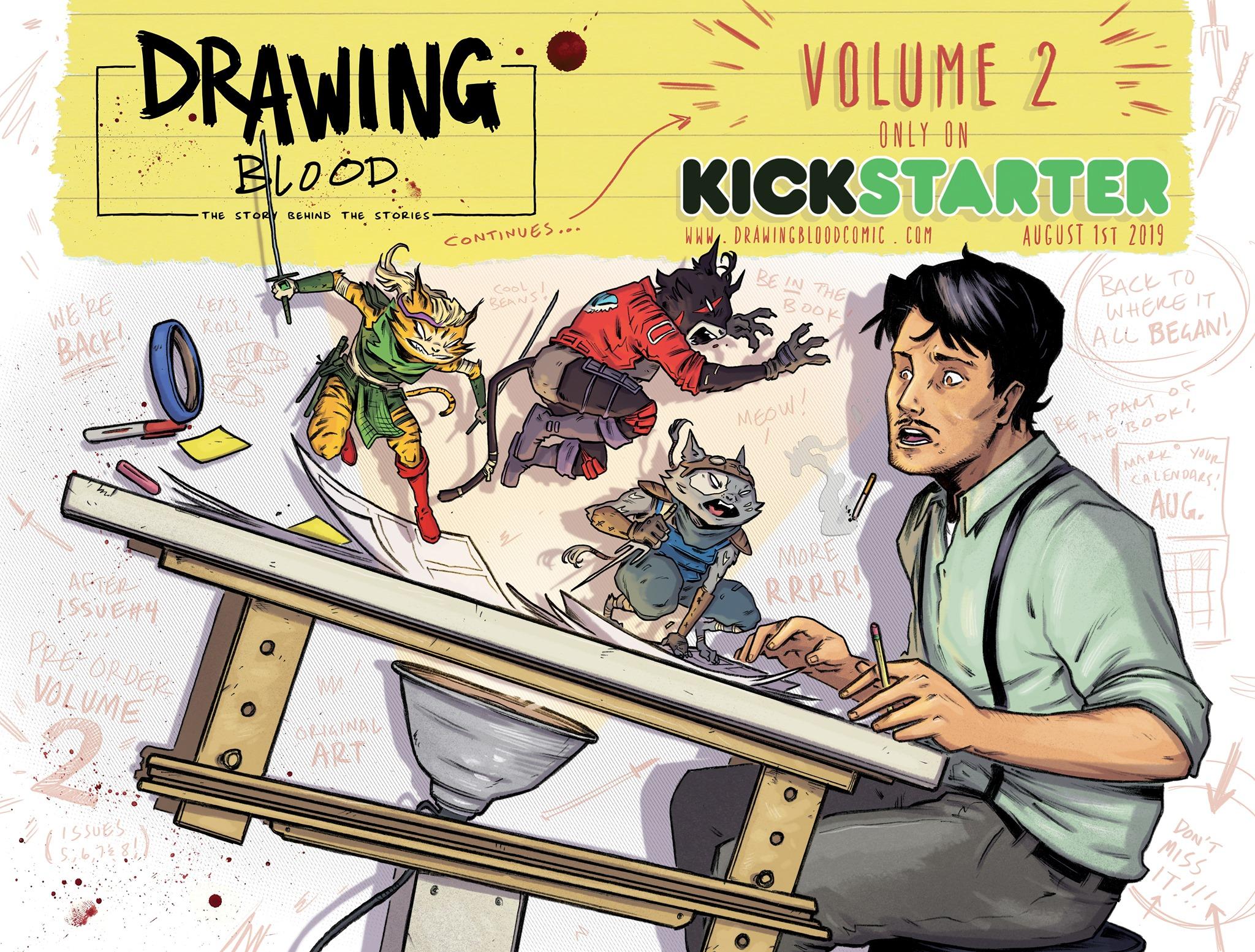 Drawing Blood Volume 2 - TOMORROW!!!