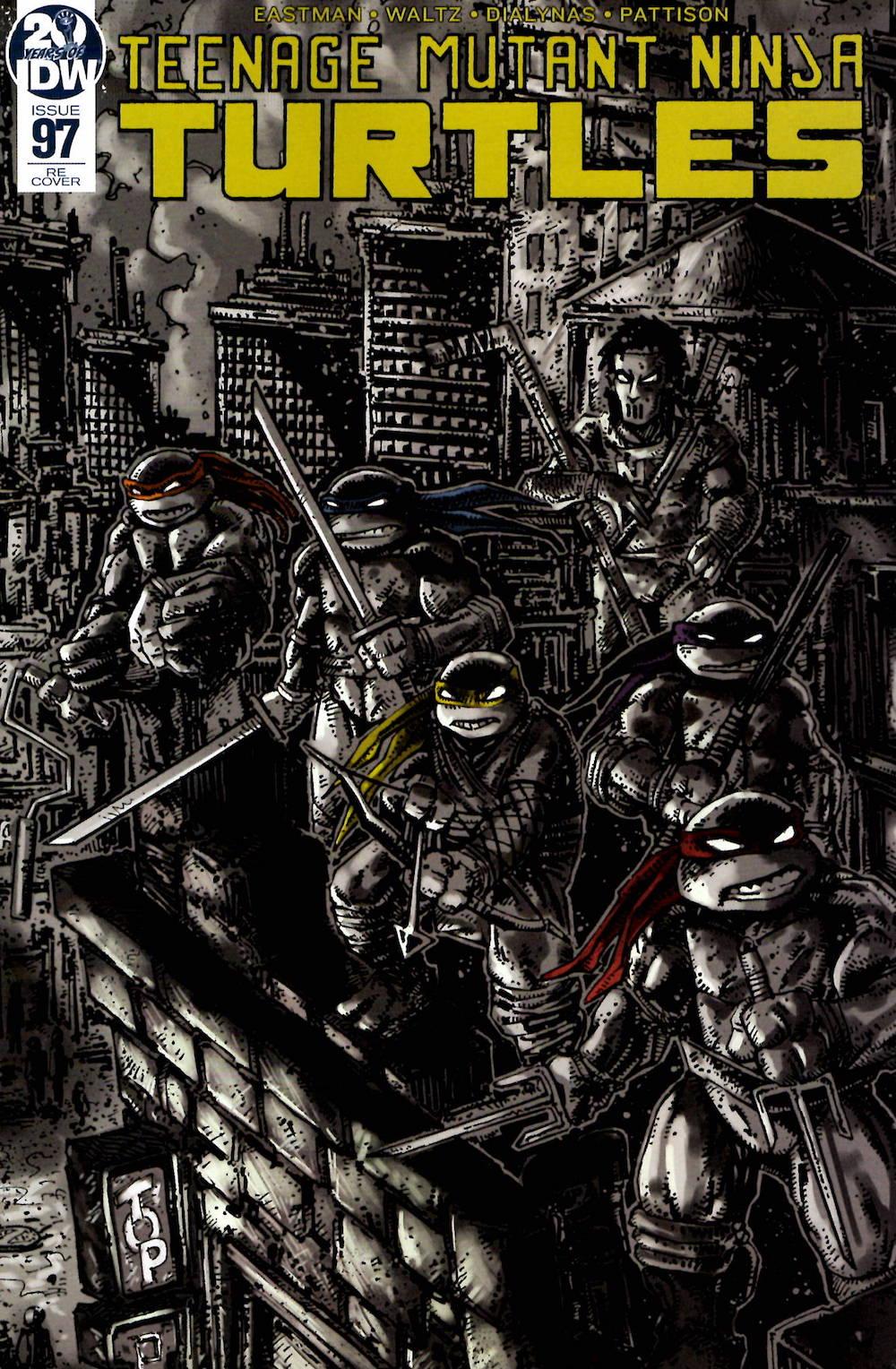 TMNT #97 - Fan Club Members - Back In Stock