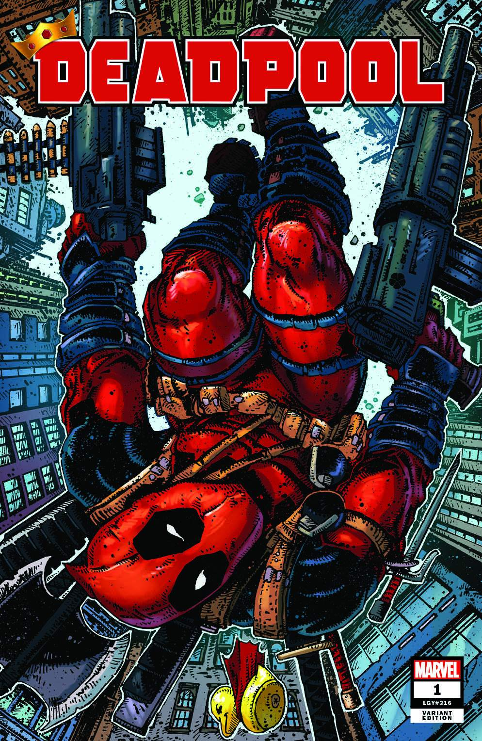 Deadpool is now available from Clover Press