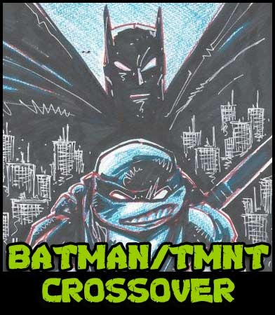 Batman TMNT Art 25% OFF NOW!!!!!