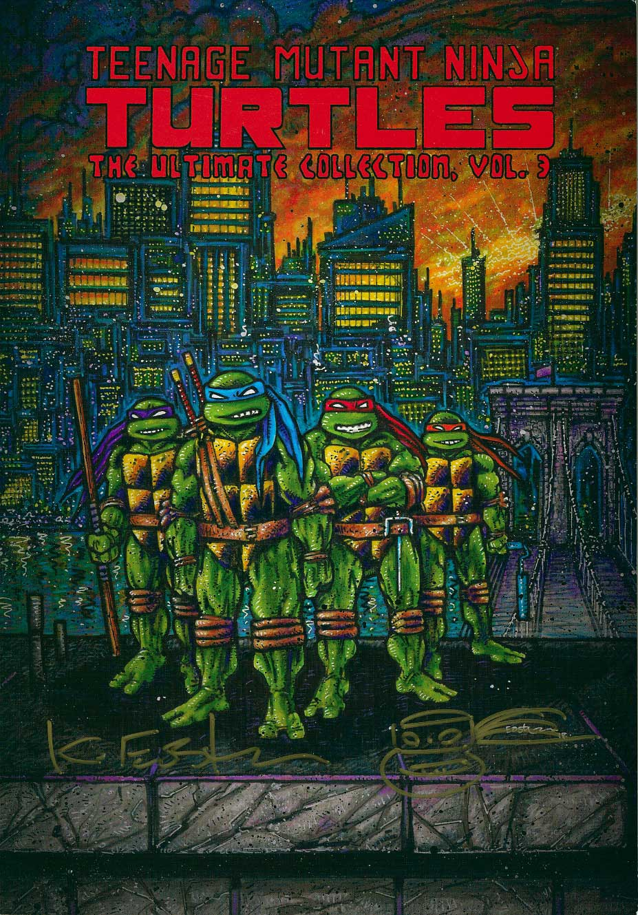 Ultimate Collection Jpg: TMNT Ultimate Collection Volume 3