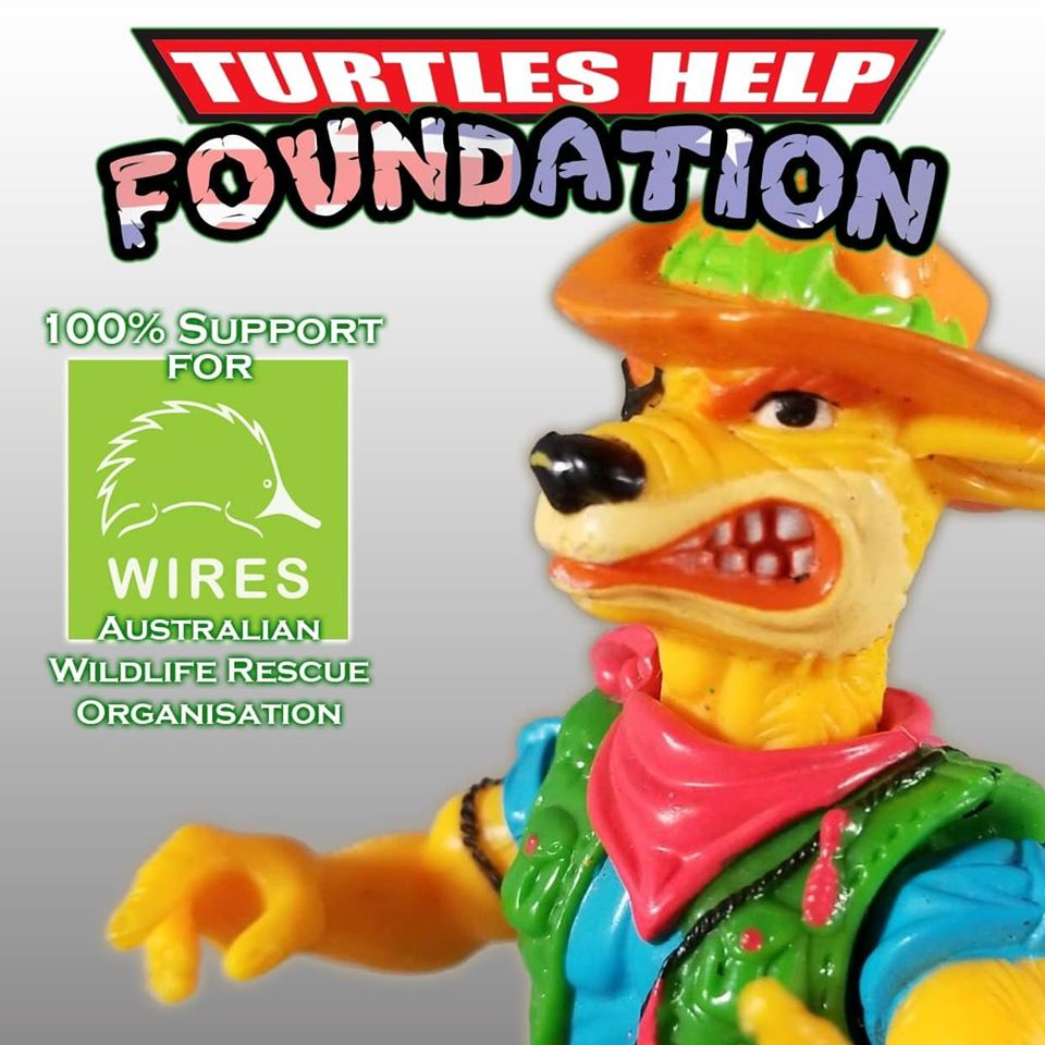 TMNT Community Raising Funds for Australia's Wildlife