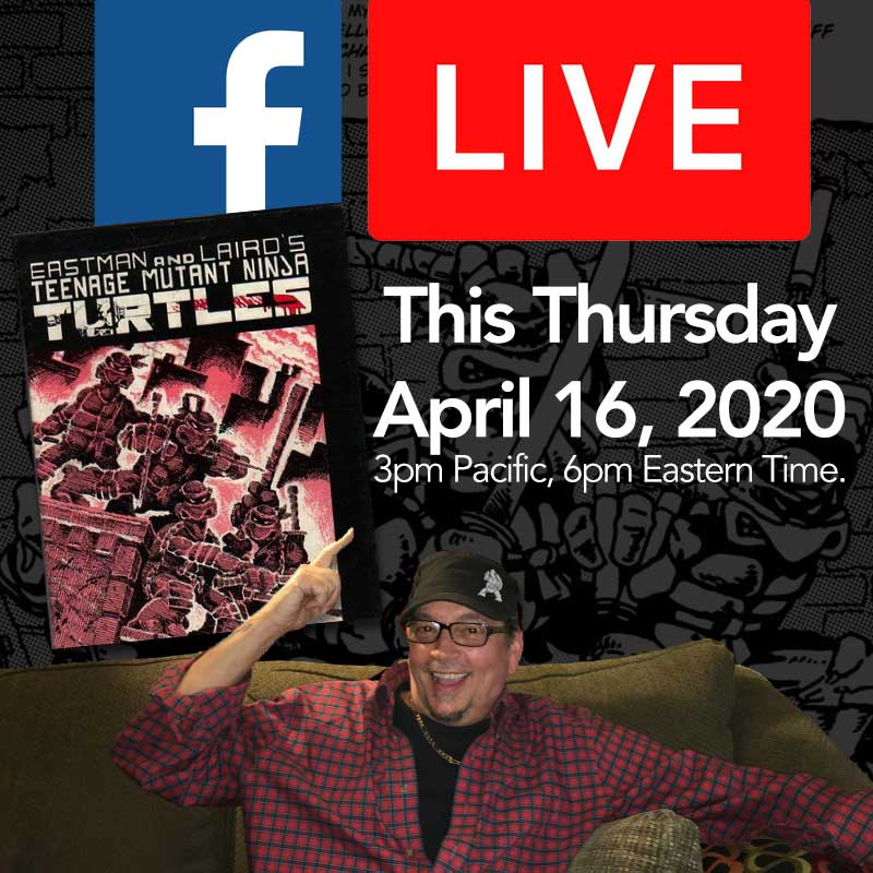 Facebook Live Chat - April 16 3PM Pacific Time