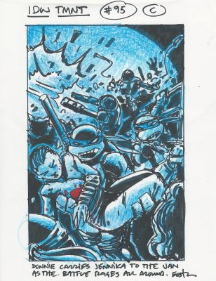 TMNT #95 C Used for Final cover