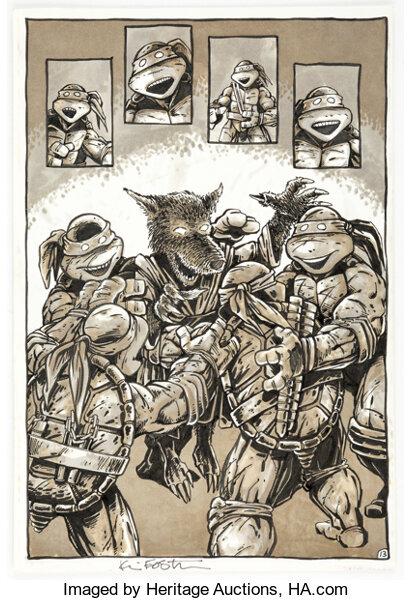 Teenage Mutant Ninja Turtle Auction Spotlights 36 years of 'Turtle Power'