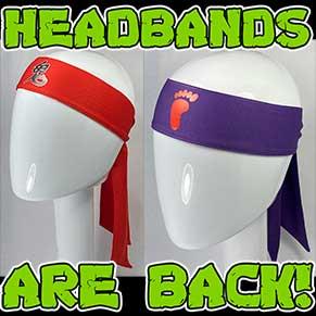 Classic Foot Clan Headbands