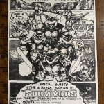 Radical TMNT Auctions hosted on the Eastman Studios website